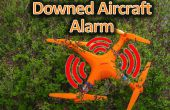 Alarme de l'avion qui s'est écrasé