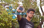Banque de l'énergie solaire $ 5 de batterie d'ordinateur portable recyclé
