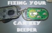 Fixation de vos clefs de voiture