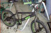 Comment peindre un vélo BMX