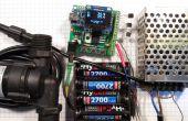 Contrôleur de capteur solaire de l'eau chaude avec thermostat v1.23