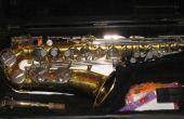 Bleu de Saxophone