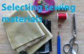 Choix des matériaux de couture