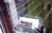 Siège de fenêtre chargeur solaire