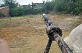 Sarbacane takedown assistée par laser avec bipied