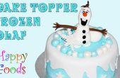 Congelés Snowman Olaf Fondant glaçage Cake Toppers