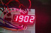 En utilisant Shift Register 74HC595 ULN2803, UDN2981 et BC327