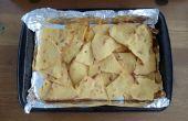 Cuit Chips Tortilla de maïs - à partir de zéro - recette facile