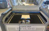 ASMR industriel : Mines Epilog Laser coupeurs pour son