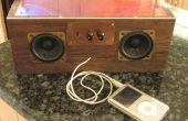 Haut-parleurs iPod Vintage (avec LED) !