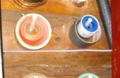 Paint Brush cheville outil cintres en mousse