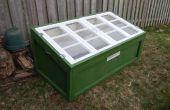 Construire un chassis froid à l'aide de vieilles fenêtres