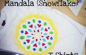 Congélateur papier Mandala (flocon) T-shirts