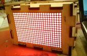 Faire une boîte pour vos 16 x 24 HT1632C LED Matrix - je l'ai fait à TechShop