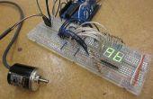 Arduino alimenté encodeurs rotatifs - je l'ai fait à TechShop