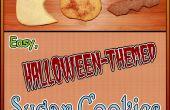 Biscuits au sucre facile sur le thème de Halloween