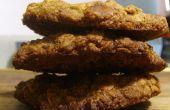 Noix et sucre brun biscuits à l'avoine