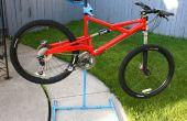 Libre debout vélo réparation Stand avec bac optionnel de ToolParts/