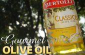 Gourmet d'huile d'Olive crème glacée sans une sorbetière