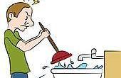 4 façons de libérer votre évier de cuisine des sabots