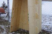 Contreplaqué Tobbogan Slide, ou comment construire avec du contreplaqué et (presque) sans attaches