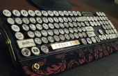 Le dirigeable capitaine MK-I(yet another steampunk keyboard)