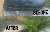 Comment changer un chaussures anciennes en Pot de fleur a (facile)