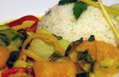 Recette de Curry de potiron facile
