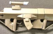 Fusil d'assaut de tireur d'élite 2.0 de Halo (pistolet en carton)