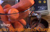 Sans lactosérum Lacto fermenté carottes râpées
