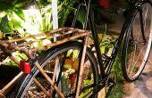 Bambou porte-vélos arrière