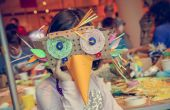 Wearable ZOO masques bricolage atelier
