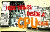 Cacher des choses à l'intérieur d'un cas de CPU