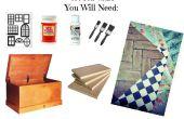 Hope Chest Dollhouse et meubles DIY !