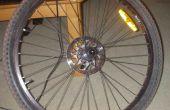 Faire votre propre auto-obturant presta valve vélo tube
