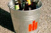 Personnalisé le seau de bière de l'été