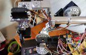 Maison bras robotisé à l'aide de pièces Standard en utilisant Arduino et un traitement GUI