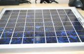 Batterie moins puissant chargeur solaire