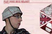 Pack casque de vélo à plat