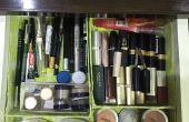 Organisateur de maquillage (matériaux recyclés)