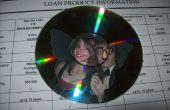 Cadre photo papillon CD