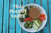 Sauce d'arachide thaï recette Copycat !