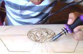 Comment graver un Cruiser court (un projet d'atelier de menuiserie) de la main