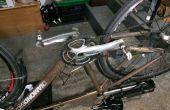 Changer de pédalier Shimano portant sur vélo