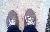 Des lacets élastiques (sans cravate)