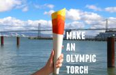 Olympic Torch papercraft