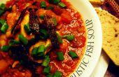 Soupe de poisson rustique (ingrédients alternatifs/w pour les végétariens)