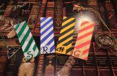 BRICOLAGE : Harry Potter marque-pages (maisons de Poudlard)