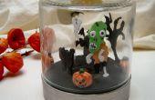 Horloge de Diorama Halloween