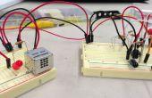 Détecteur de voiture de garage sans un microcontrôleur